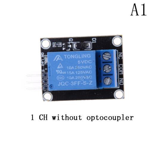 5V 1//2//4//8 Kanal Relais Board Modul Optokoppler LED für Arduino PiC ARM AVR BCDE