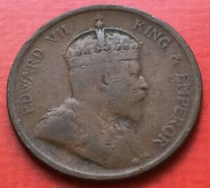 Straits-King-Edward-VII-One-Cent-1904