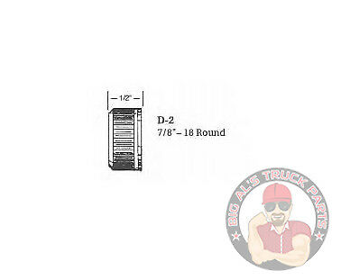 """# D2 7//8/""""-18 ROUND CLARK BROTHERS CABLE NUT"""