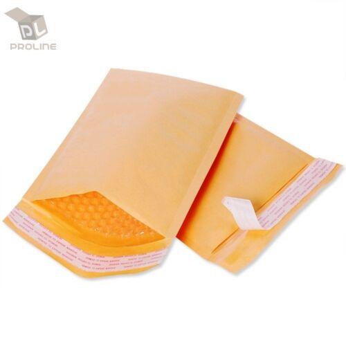 ProLine® 200 Padded Kraft Bubble Envelopes Mailers bags 7.25x12 Inner 7.25x11