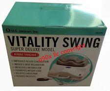 The Vitality Swing Chi Vitalizer Cardio Exercise Massager Machine Energizer Flow