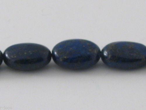 4 pietre ovaline lapislazzuli 12x9 mm di ottima qualità