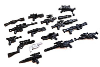 Brickarms Star Wars Blaster Weapons Pack For Lego Minifigures