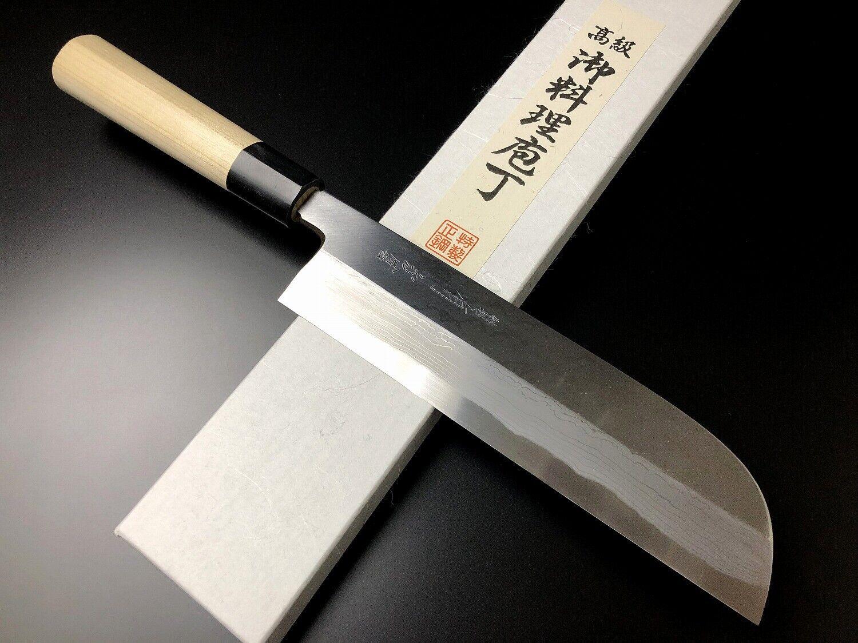 Japonaise couteau de cuisine bleu ARITSUGU acier Légume kamausuba 225 mm 8.85  AT099a
