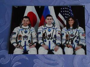 Sojus TMA-05M Crewphoto original signiert Space