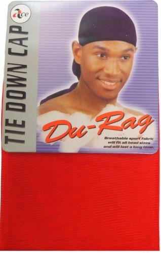 Multi Coloured Polyester Tie Down Du-Rag Cap