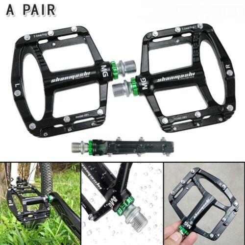 1 Paar Magnesiumlegierung Mountain Fahrrad MTB Flat Platform Superlight Pedale
