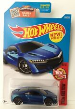 Hot Wheels '17 ACURA NSX - Blue variant 2016 Then And Now 8/10 P-case honda ns-x
