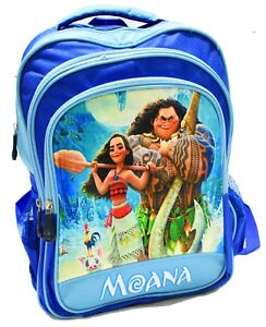 fd340bed3dd NEW LARGE BACKPACK KIDS DISNEY MOANA MAUI GIRLS SCHOOL PICNIC GIFTS TRAVEL  BAGS