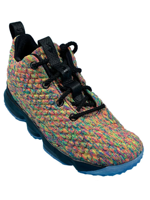 b97f9dd771b Nike Lebron XV (ps) Shoes Fruitty Pebbles Four Horsemen 922812-901 Size 2y  for sale online