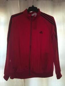 adidas Originals 3 Stripe Superstar Track Jacket Red M