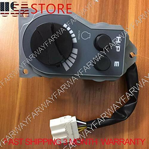 4341545 Fuel dial Manual Gas knob Switch fits HITACHI EX200-5 EX200-3 EX220-5