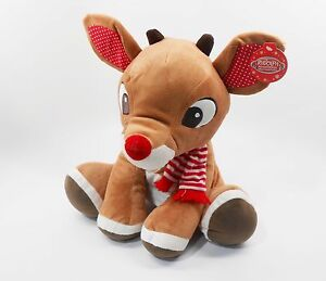Rudolph-The-Red-Nosed-Reindeer-LARGE-14-inch-35-56-cm-Plush-Toy-NEW