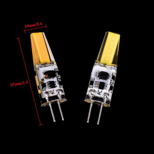 5pcs Dimmable COB G4 6W EPISTAR AC 12V LED Light Bulb Replace Halogen Lamps Fad
