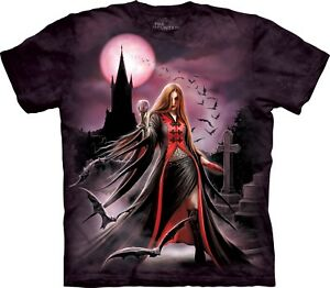 Shirt Stokes Moon Blood Mountain T Anne Adult The Unisex pxqFw8786