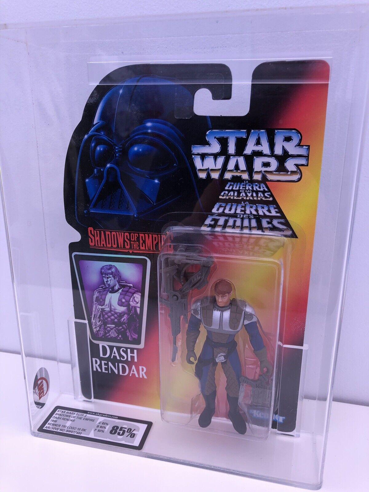 Kenner Estrella Wars Potf Sombras del Imperio Dash RendarG Figura de Acción 85%