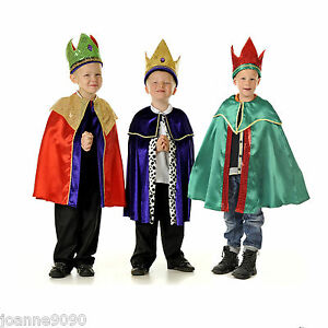 Image is loading BOYS-NEW-DELUXE-NATIVITY-SCHOOL-PLAY-CHRISTMAS-WISE-  sc 1 st  eBay & BOYS NEW DELUXE NATIVITY SCHOOL PLAY CHRISTMAS WISE MAN KING FANCY ...