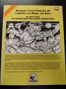 1x-Dungeon-Crawl-Classics-0-Legends-are-Made-not-Born-Used-Fine-dungeon-crawl
