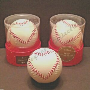 Details About Hallmark Cards Mvp Of My Heart Stitched Baseball Youre 1 Valentine Fathers Day