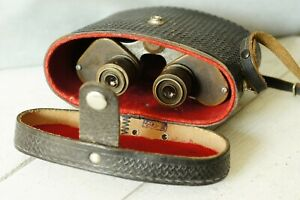 Military-army-binoculars-Made-in-the-USSR-in-the-50s-Vintage
