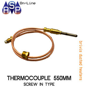 BRIVIS-THERMOCOUPLE-21-034-550mm-SCREW-IN-TYPE-FOR-DUCTED-HEATERS