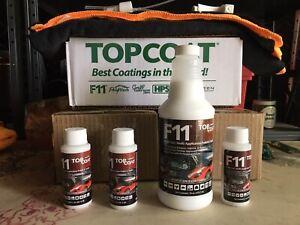 F11 TOPCOAT KIT MASTER CRAFTSMEN POLISH SEALER 16oz Bottle+3 2oz Bottle+2 Towels