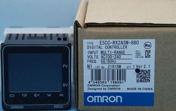 E5CC-RX2ASM-880 E5CC RX2ASM 880 100-240VAC NEW OMRON Temperature Controller  LRR