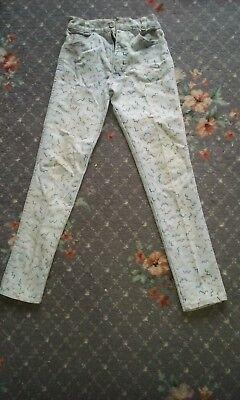 Vintage 80s Childs Jeans-mostra Il Titolo Originale Piacevole Al Palato