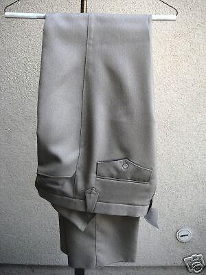 31 Waist NWT Mens Western Cut Pant Tan 100% Poly-Silk