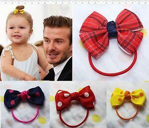 2PC-Girls-Baby-Toddlers-Kids-Bow-Ribbon-bowknot-Cute-Princess-Hair-Ponytail-Band
