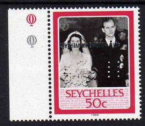 SEYCHELLES-1987-50c-OVERPRINT-INVERTED-SG-674a-MNH