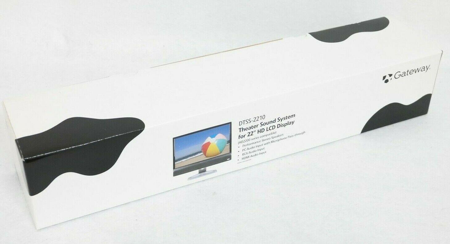 Gateway DTSS-2210 Sound Bar 2528168R for HD2200 HD2250 Monitor FREE SHIPPING