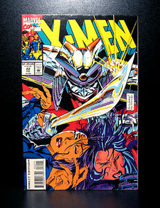 COMICS-Marvel-X-men-22-1990s-Psylocke-app-RARE-wolverine-thor-spiderman