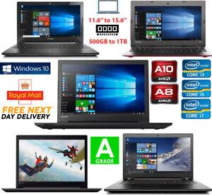 Lenovo-IdeaPad-15-6-034-Laptop-Intel-Dual-AMD-A8-Core-4GB-RAM-32GB-500GB-Windows-10