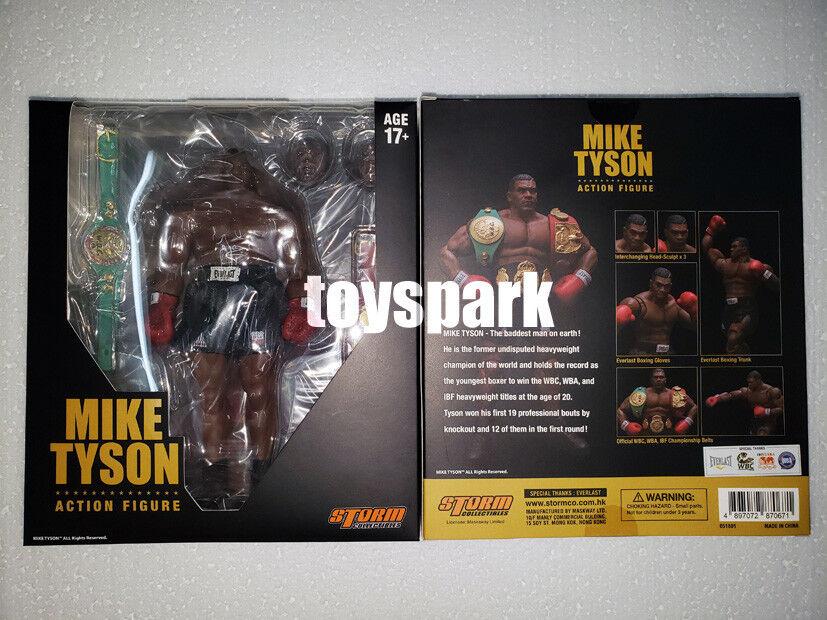 Storm Collectibles Mike Tyson 1 12 Champion Poids lourd Action  Figure  pas cher en haute qualité