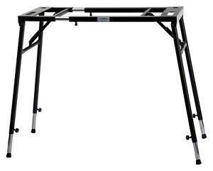 Keyboard-Staender-Keyboard-Stativ-Mixer-Stand-Turntable-Klapp-Tisch-Laptop-Halter