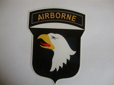 2 x  AIRBORNE CREST  WINDOW STICKERS MOTORBIKE HELMET USA MILITARY AIRFORCE