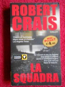 book-LIBRO-LA-SQUADRA-robert-crais-PIEMME-POCKET-2000-2004-L52