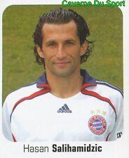377 HASAN SALIHAMIDZIC BOSNIA FC BAYERN MUNCHEN STICKER FUSSBALL 2007 PANINI