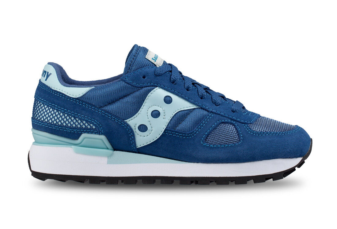 SHOES SNEAKERS SAUCONY SHADOW WOMAN LIGHT blueE   AQU ART. 1108-642