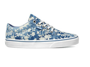 42447d9870b173 Image is loading Vans-Womens-Skate-Shoes-Winston-Floral-Indigo-Ladies-