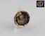 縮圖 1 - Plate Of Porcelain Beth Casven IN Gold Miniature Sterling Virgin Pillar Zaragoza