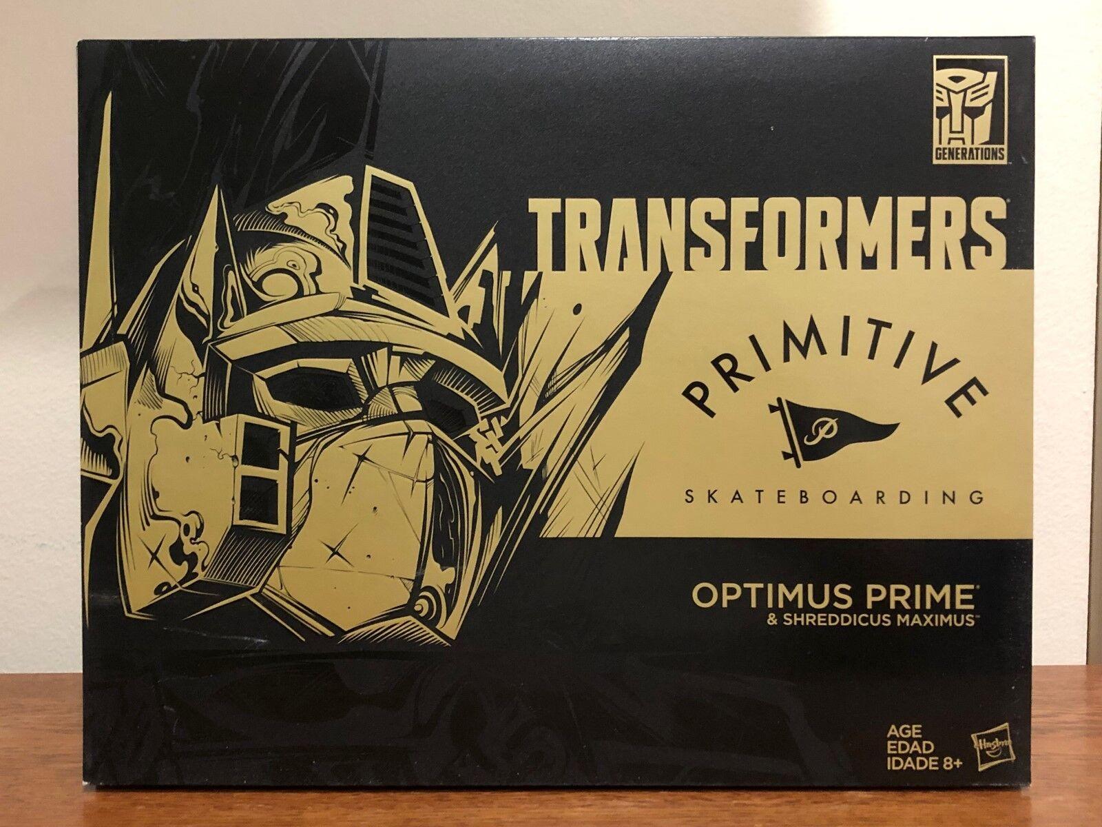 Hasbro SDCC 2017 Transformers Generations OPTIMUS PRIME & SHROTDICUS MAXIMUS