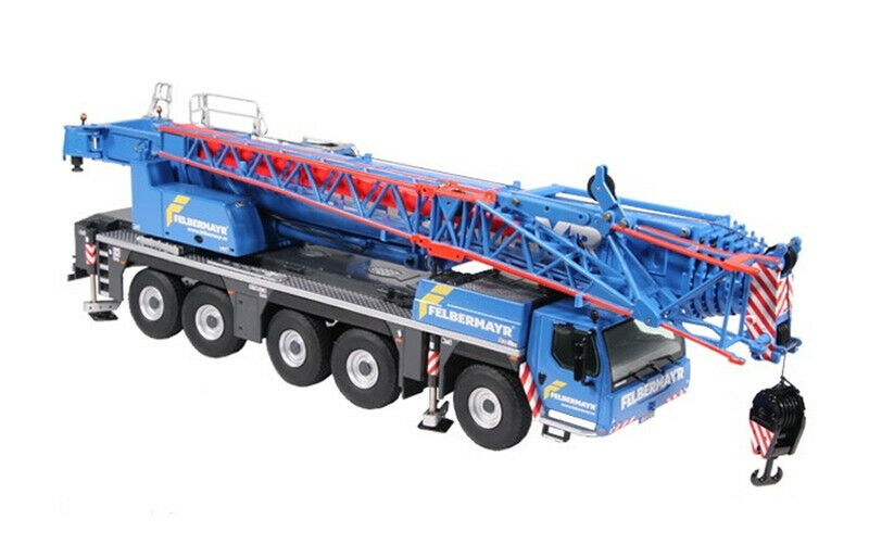 NZG 959-07 Felbermayr-LIEBHERR LTM 1250-5.1 hydraulique grue mobile 1 50 Comme neuf IN BOX