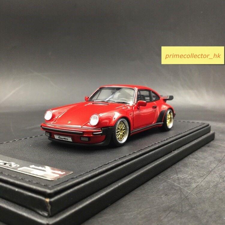 Tändningsmodellllerl 1  43 Porsche911 (930) Turbo röd IG0938