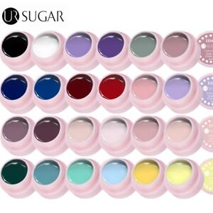 24-Farben-5ml-Soak-off-UV-Gel-Nagellacke-Nail-Art-Color-Coat-Manikuere-UR-SUGAR