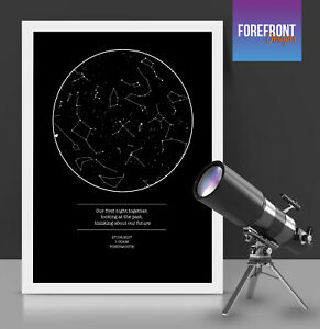 Personalised-star-sky-map-print-perfect-gift-engagement-anniversary-valentines
