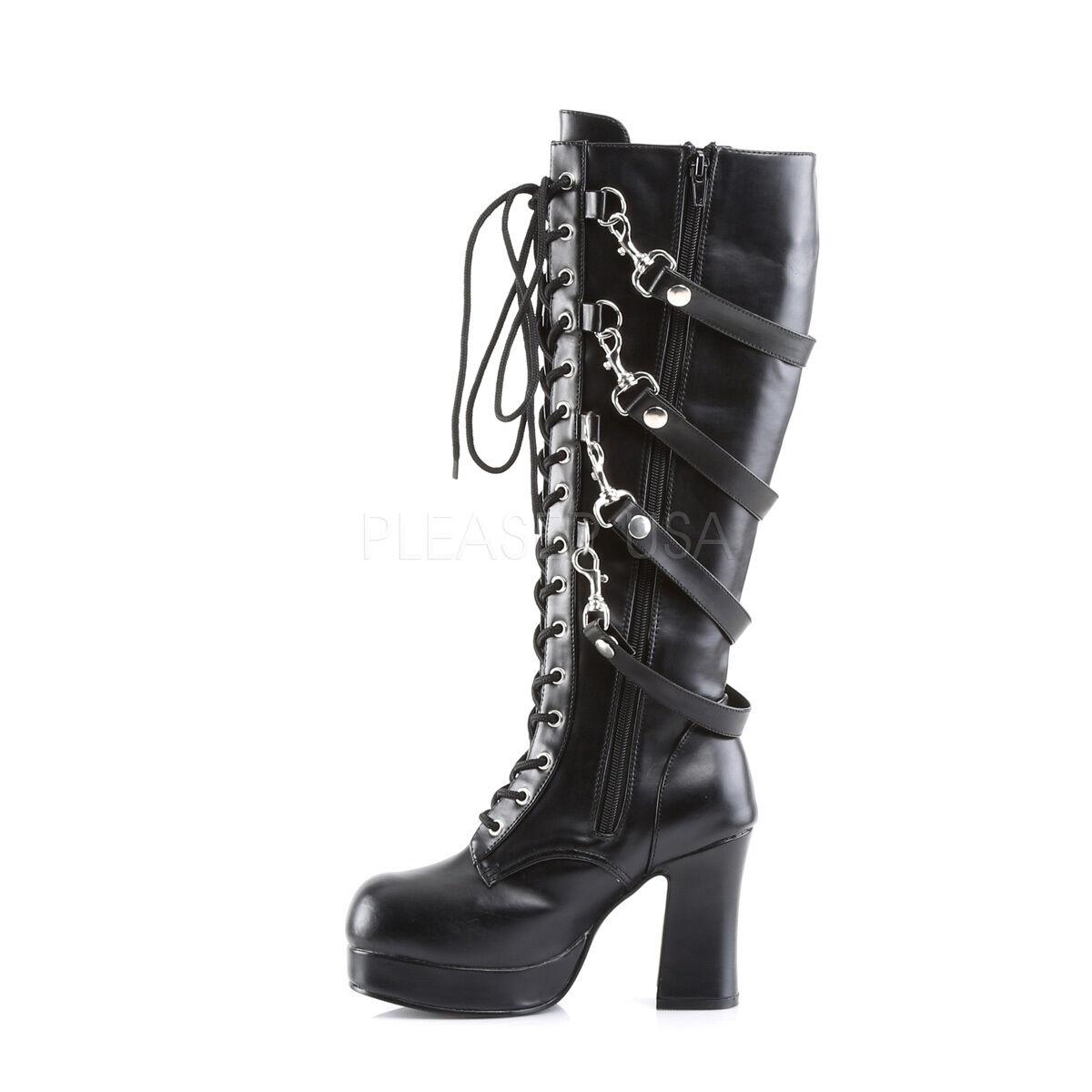 gabor bottes mode pour noires dames noires pour (27 schw. ra. de paillettes) 8 royaume - uni faf7f0