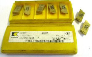 7-Plaquettes-pour-Pierce-NG3047L-KC810-de-Kennametal-Neuf-H30645