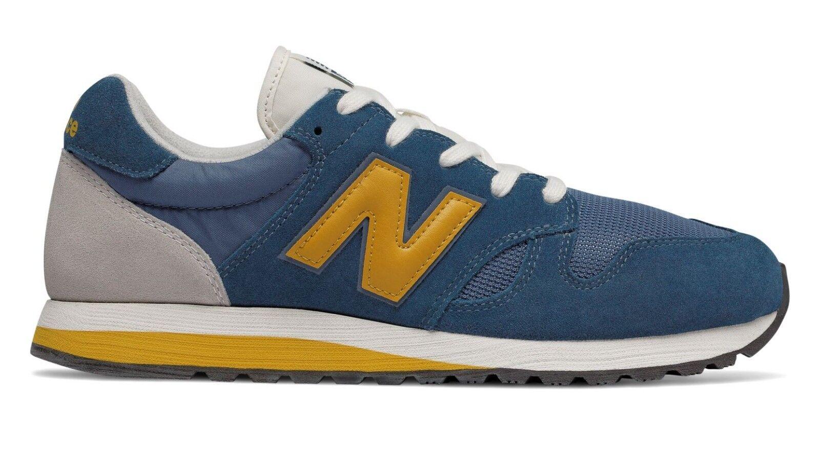 Scarpa da ginnastica uomo gialla blu New Balance Lifestyle sneakers suede mesh Scarpe classiche da uomo